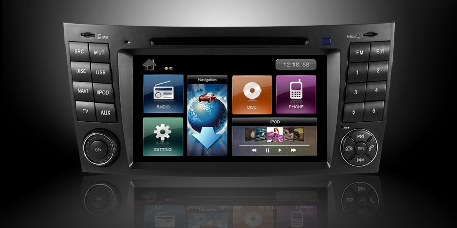 Mercedes Benz E Class W2Car Stereo Replacement Instruction