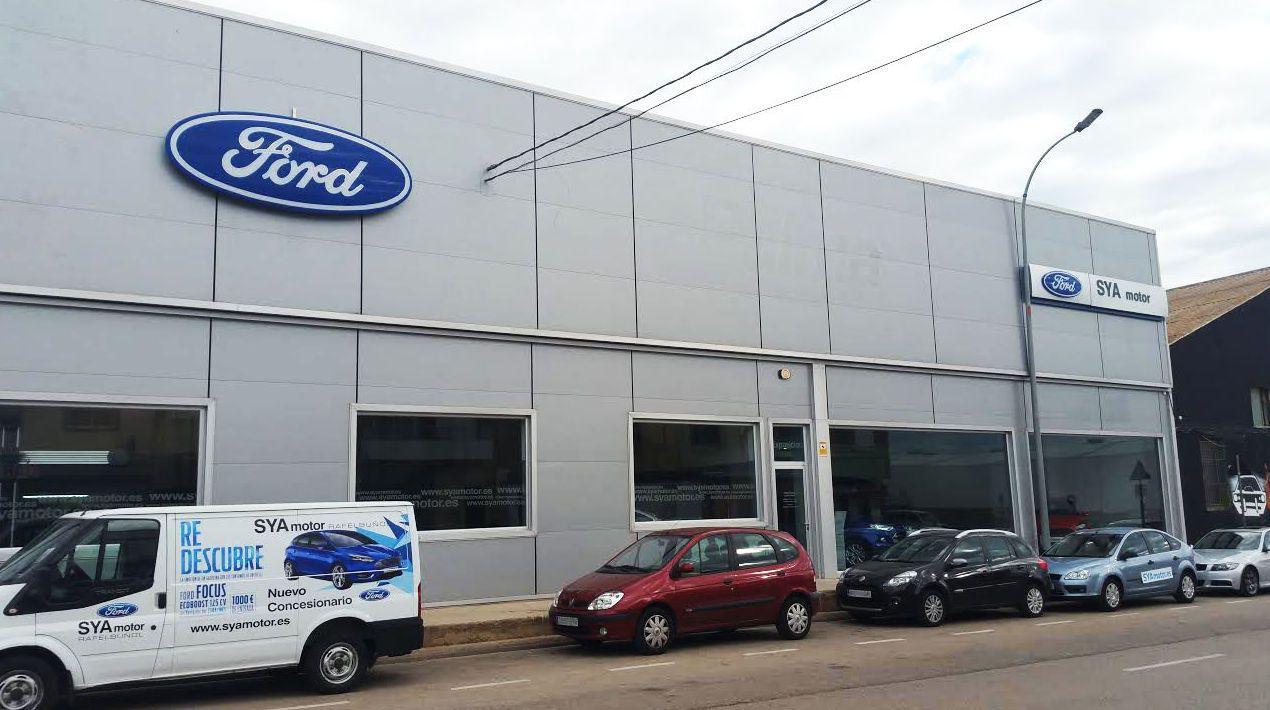 Concesionario ford logroño