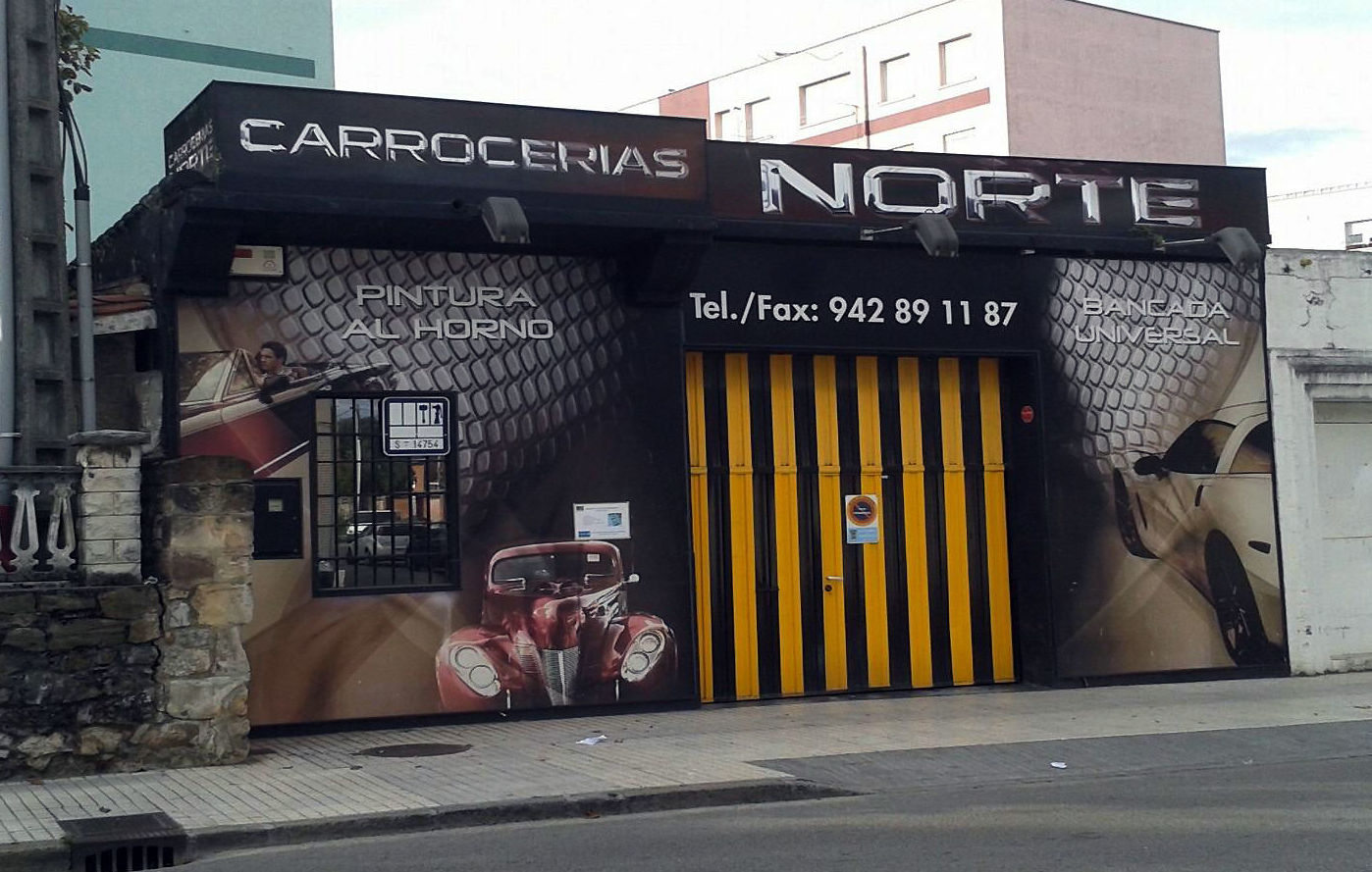 Taller de chapa y pintura en Torrelavega