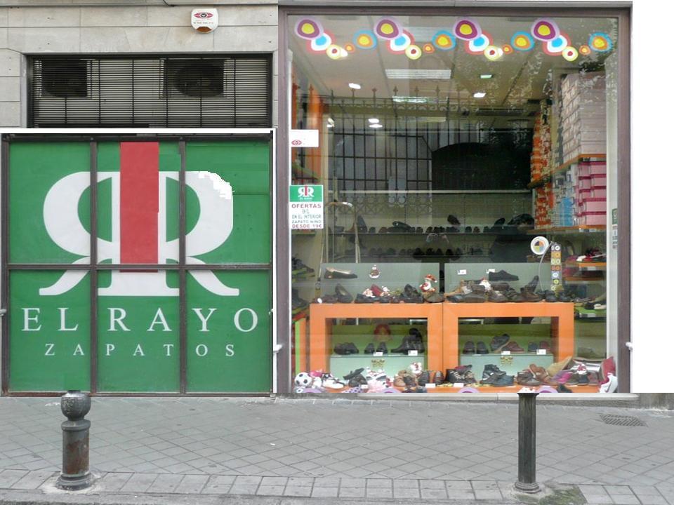 TIENDA EL RAYO ZAPATERÍAS (SAN JUAN DE DIOS, GRANADA).