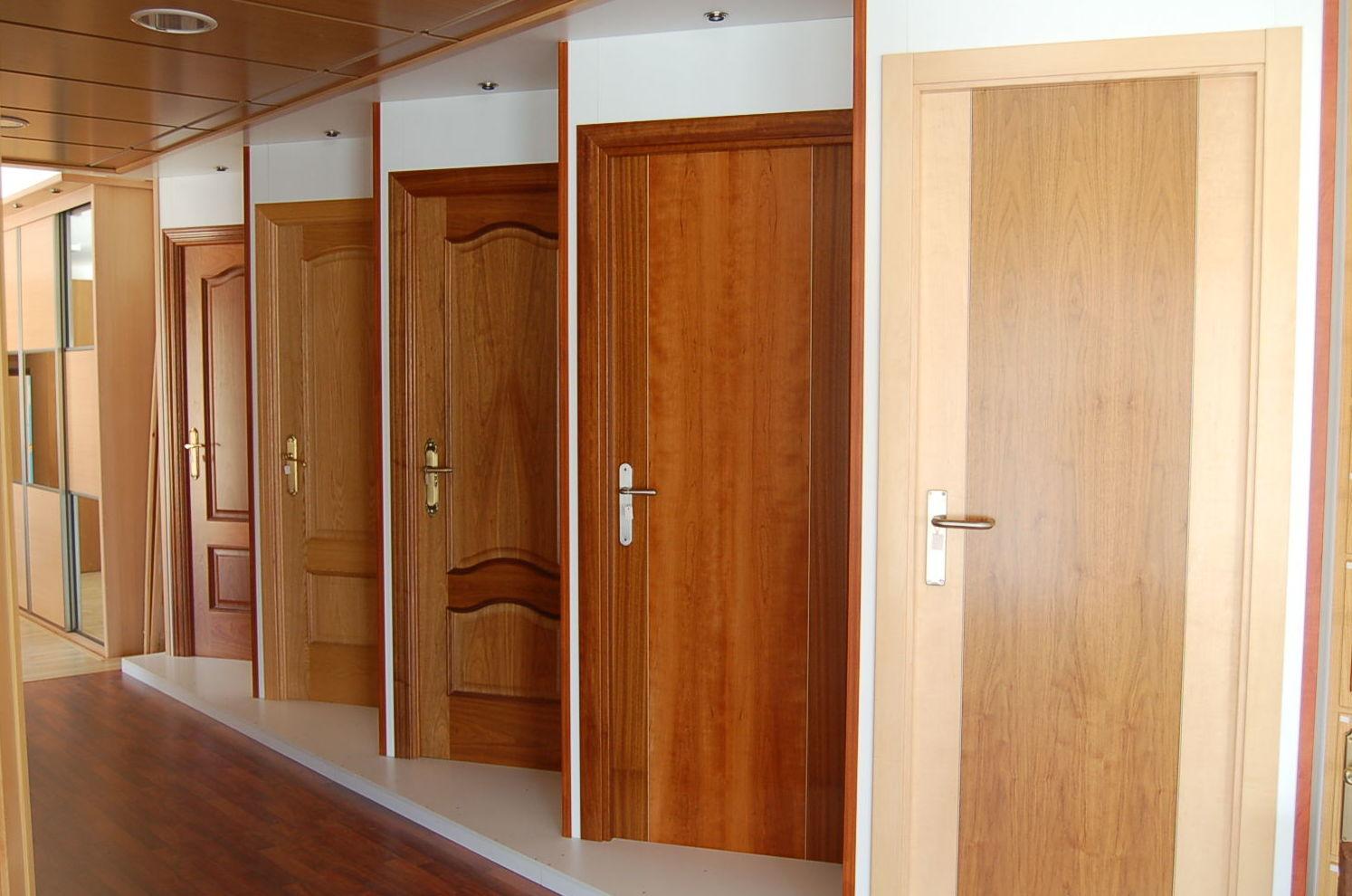 Puertas de madera en jaen materiales de construcci n - Maderas moral jaen ...