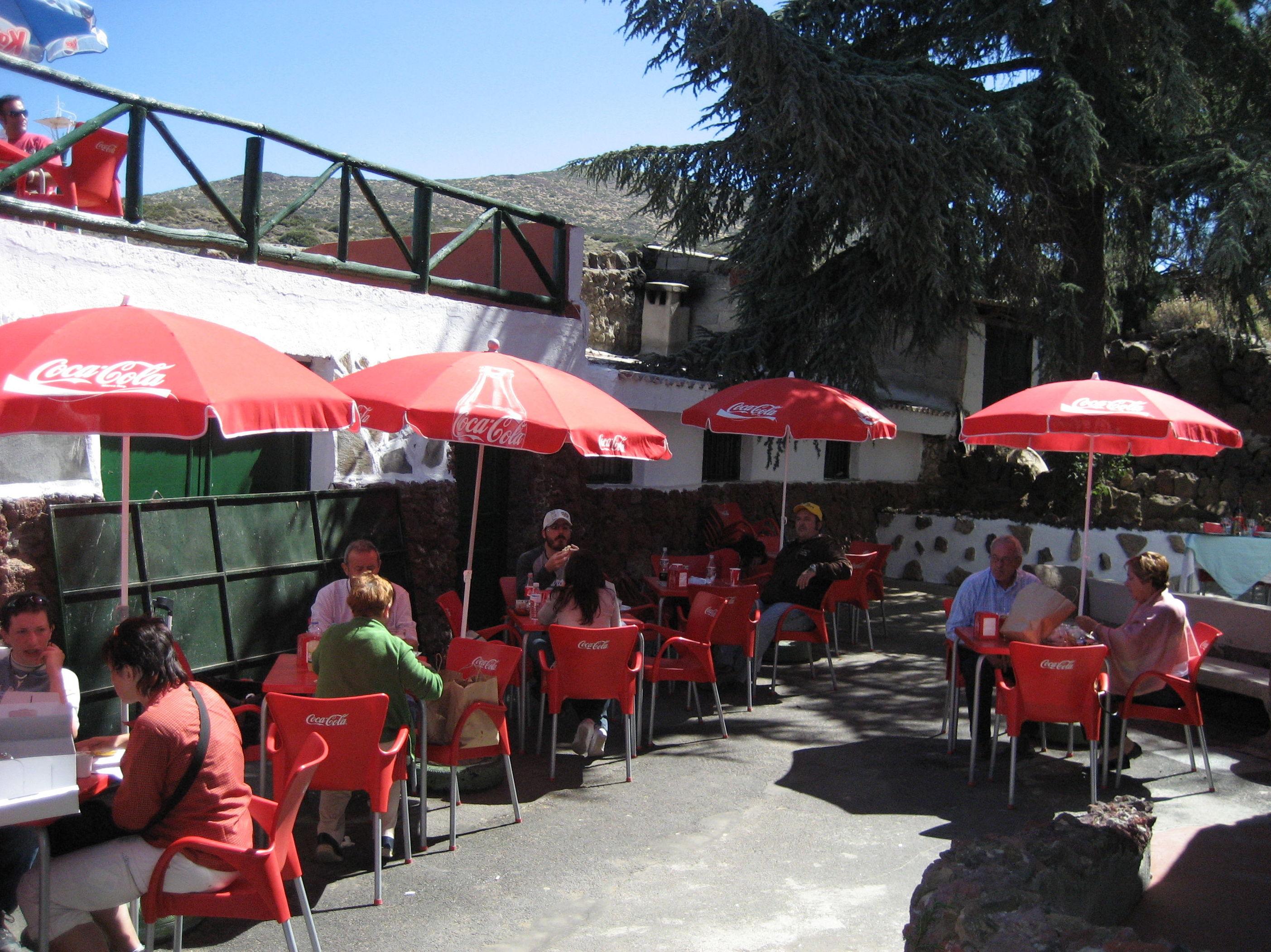 Terraza del restaurante El Portillo