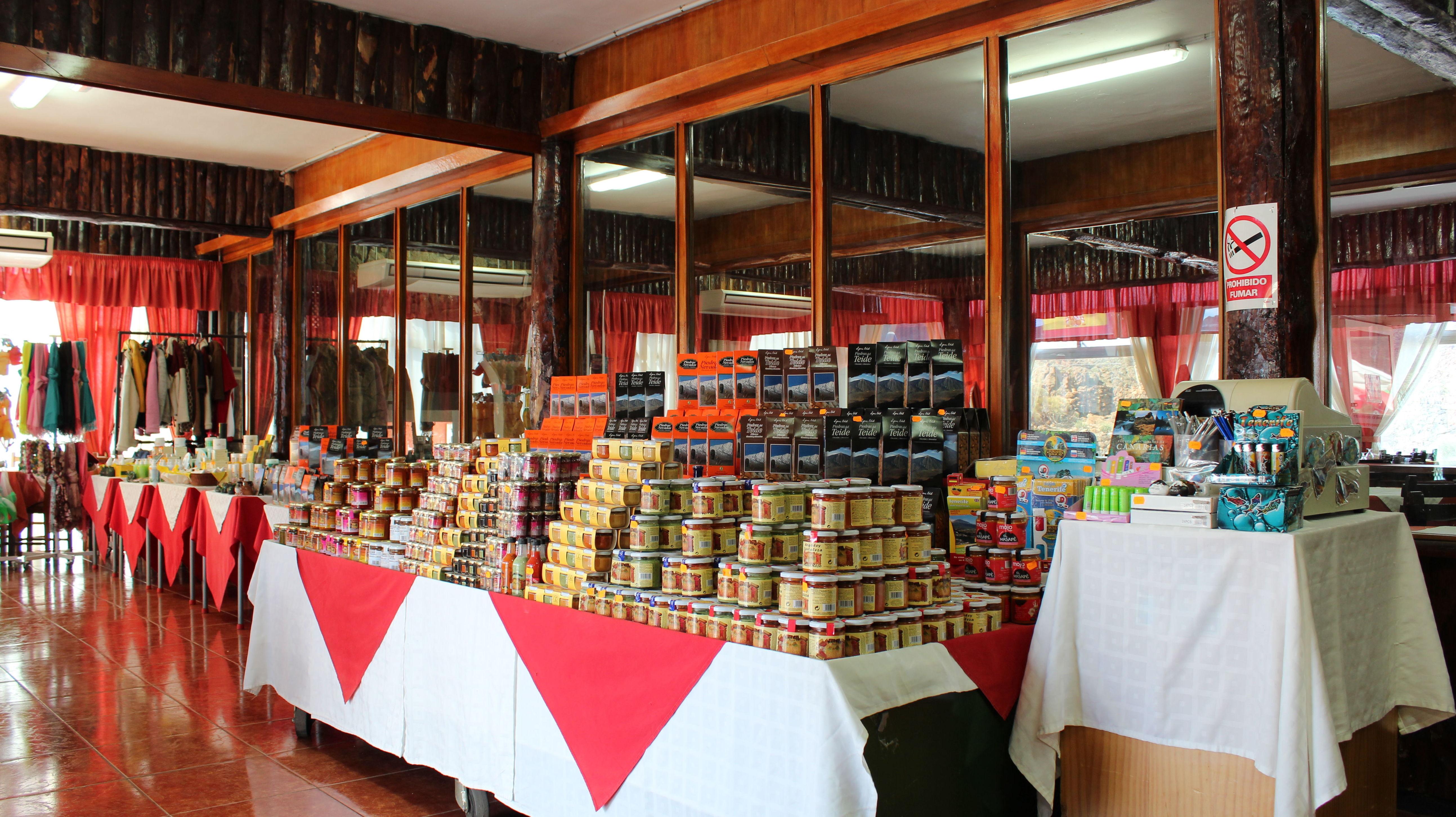 Venta de alimentos selectos de Canarias