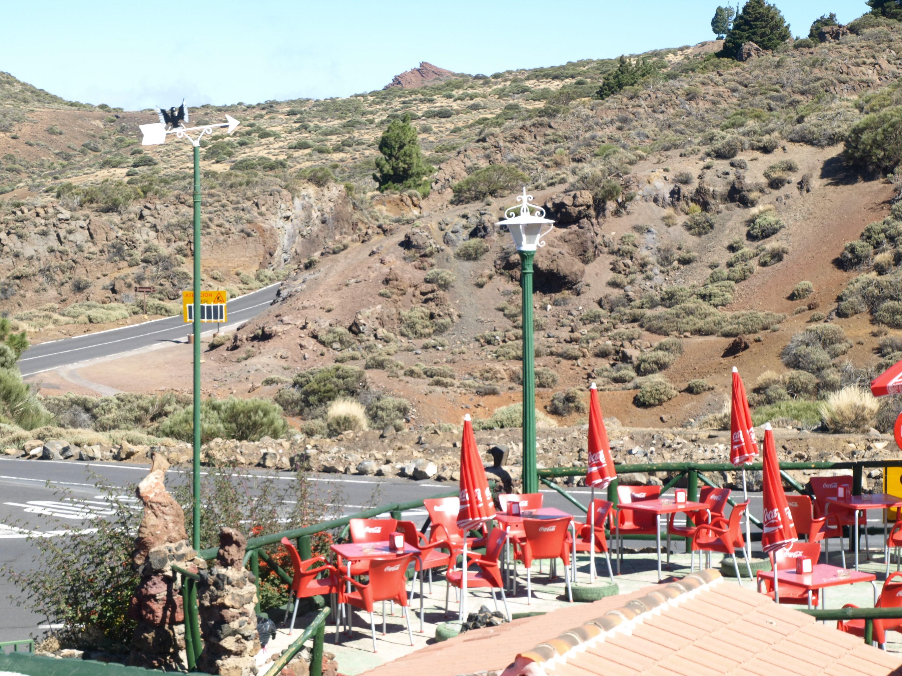 Vistas desde la terraza exterior del restaurante El Portillo