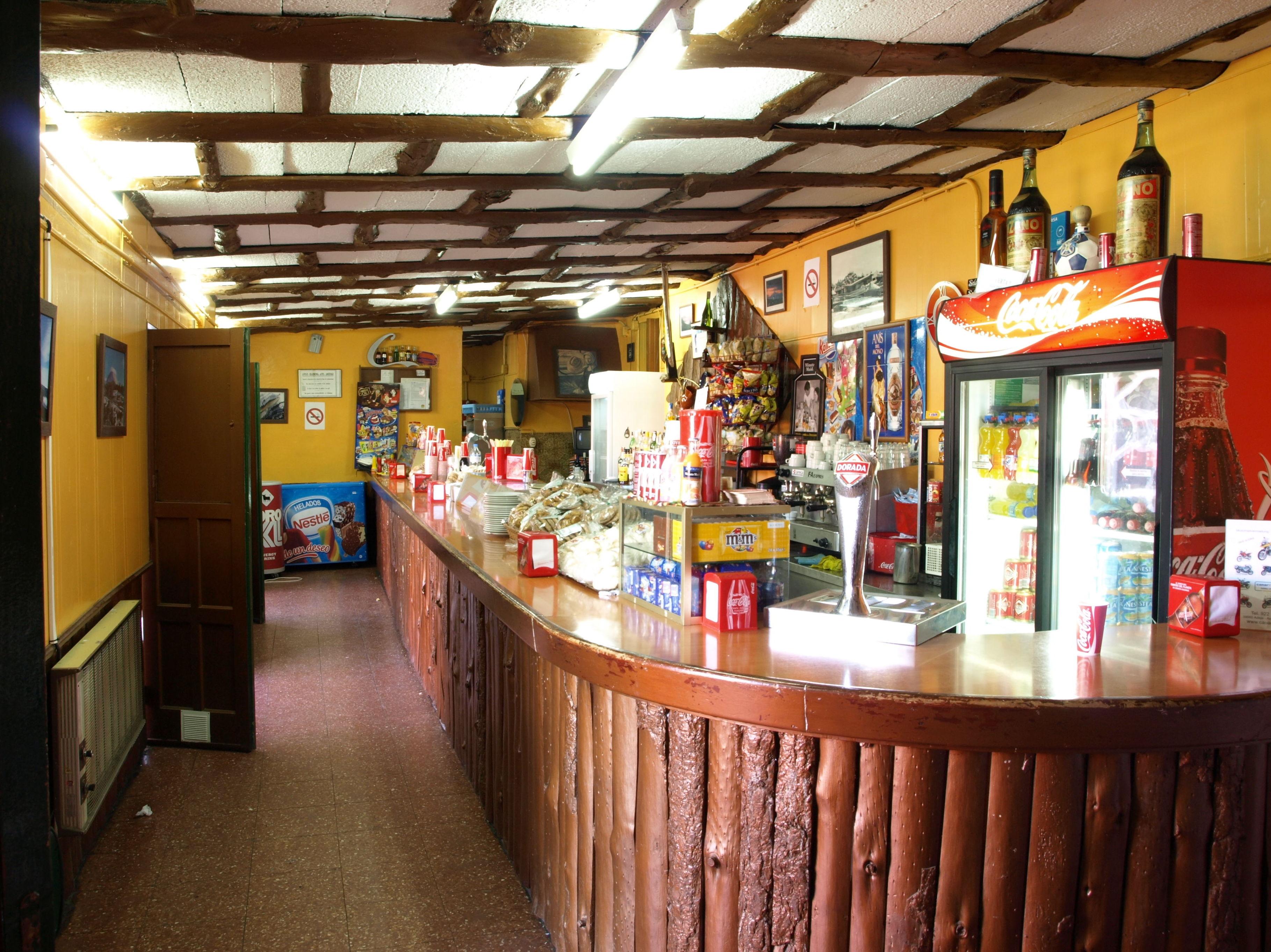 Barra del restaurante El Portillo