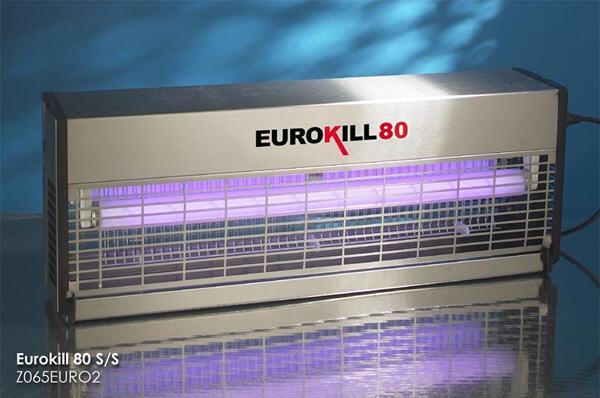 Insectocutor Eurokill 80 inox