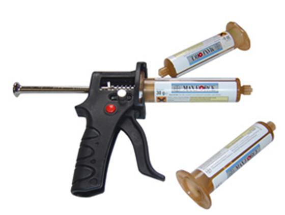 Pistola para aplicar gel insecticidas