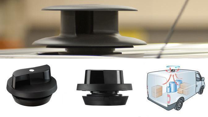 Ventilador autónomo techo vehículos