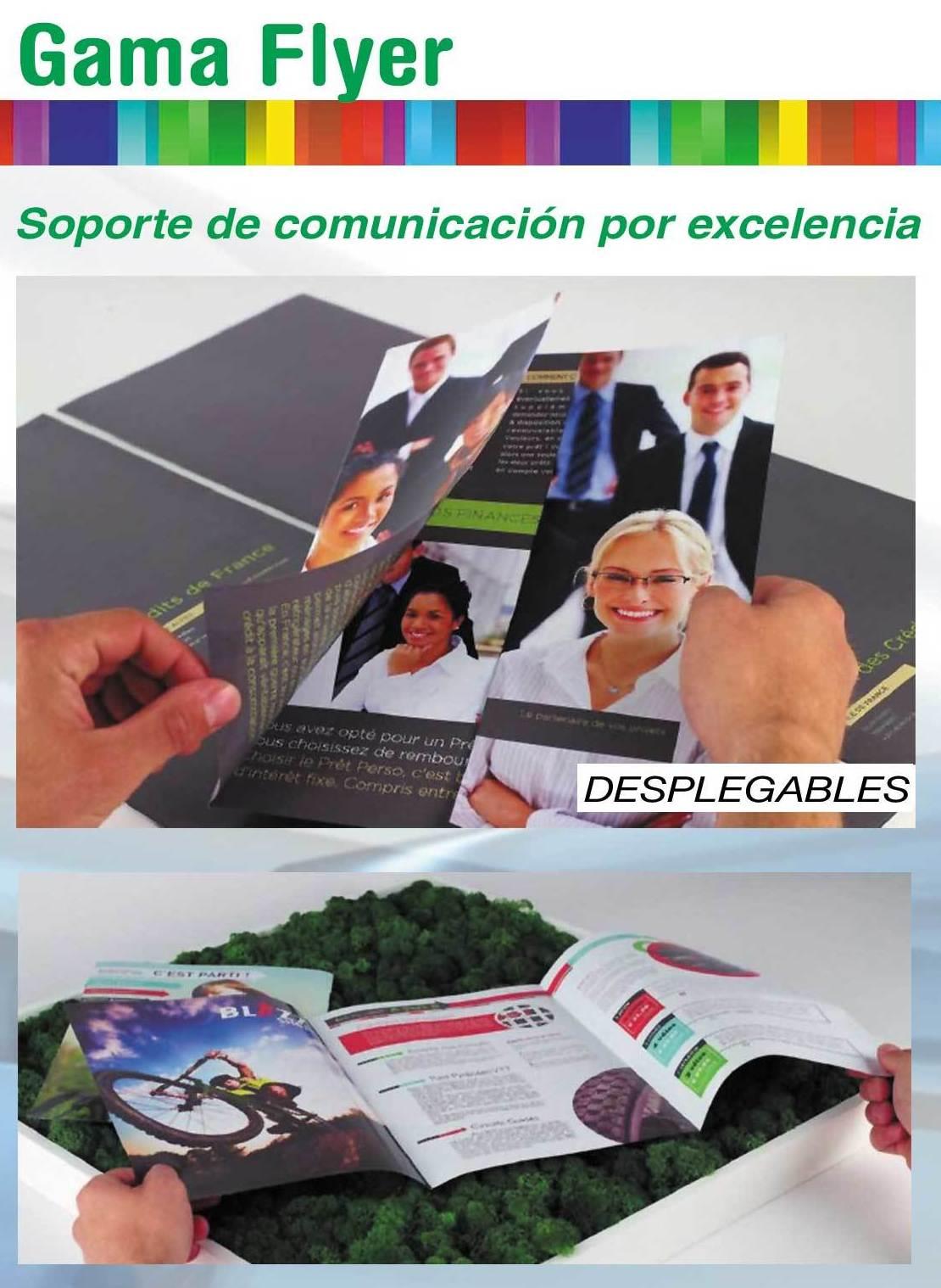 Impresión de folletos publicitarios en Sevilla