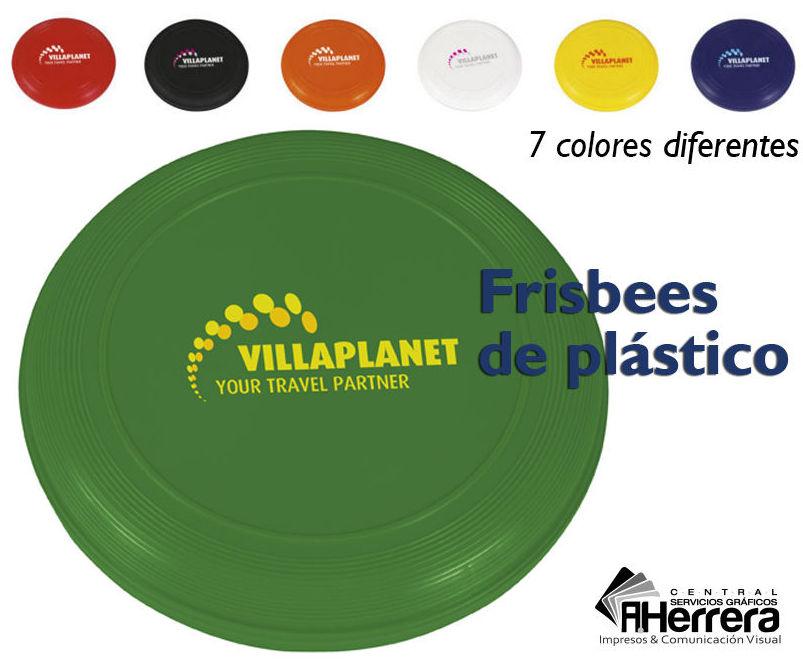 Frisbee plástico de alta calidad