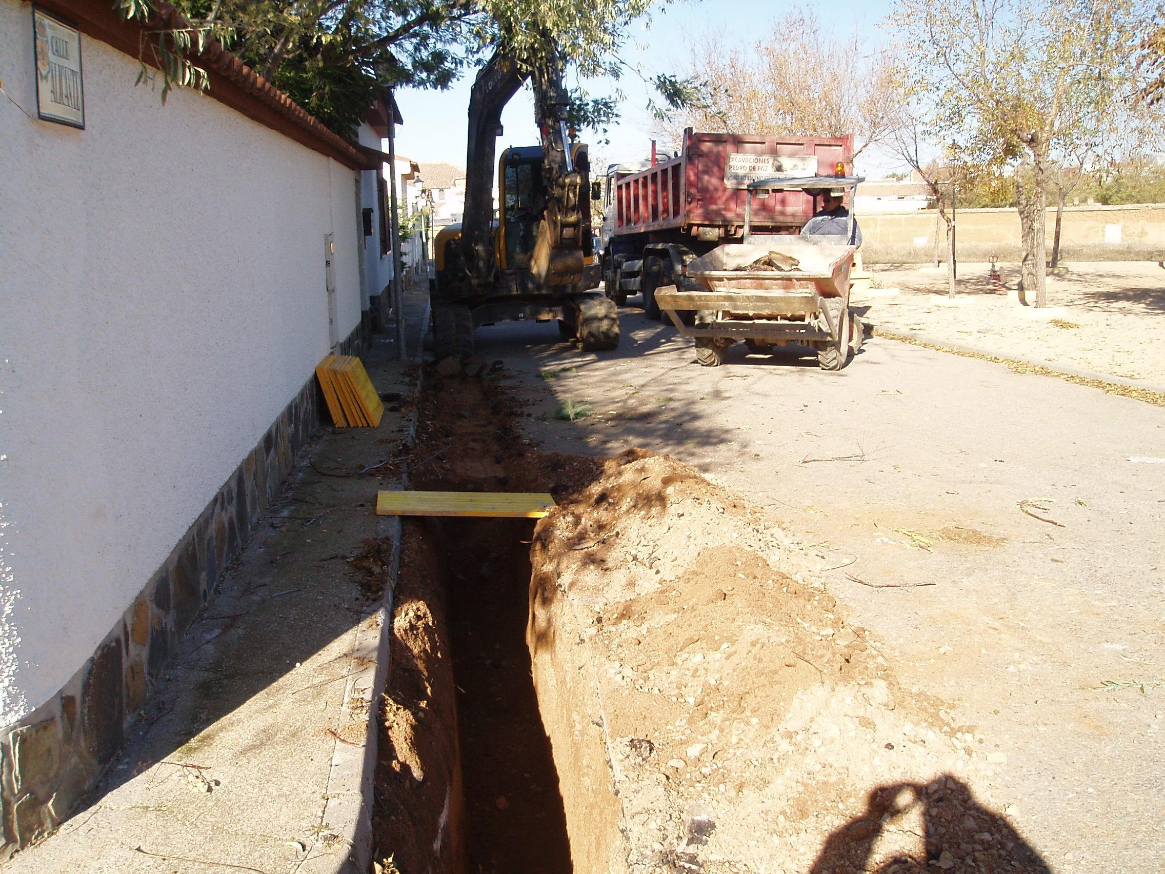 Foto 7 de Excavaciones en Polán | Excavaciones Pedro de Paz