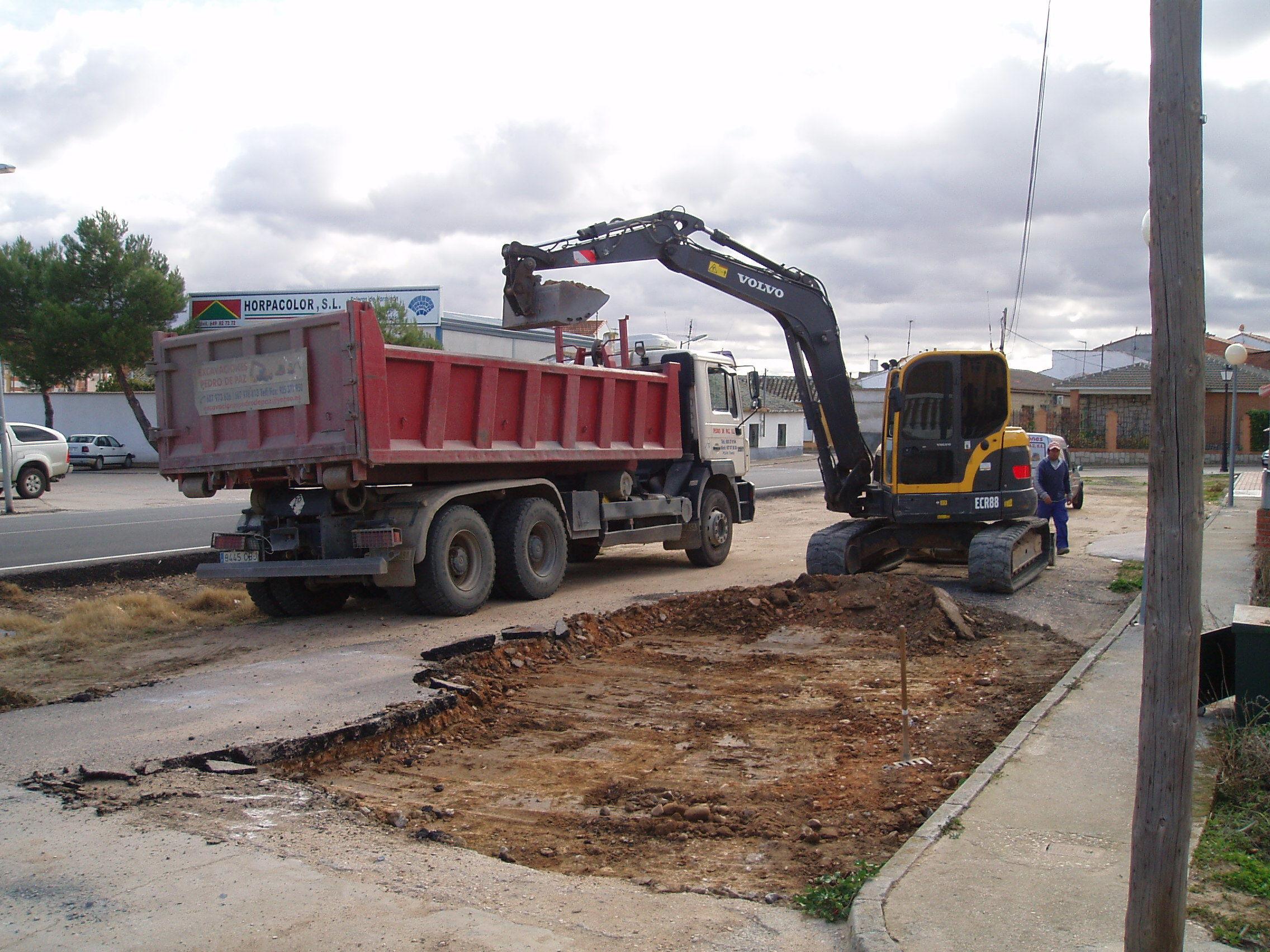 Foto 8 de Excavaciones en Polán | Excavaciones Pedro de Paz