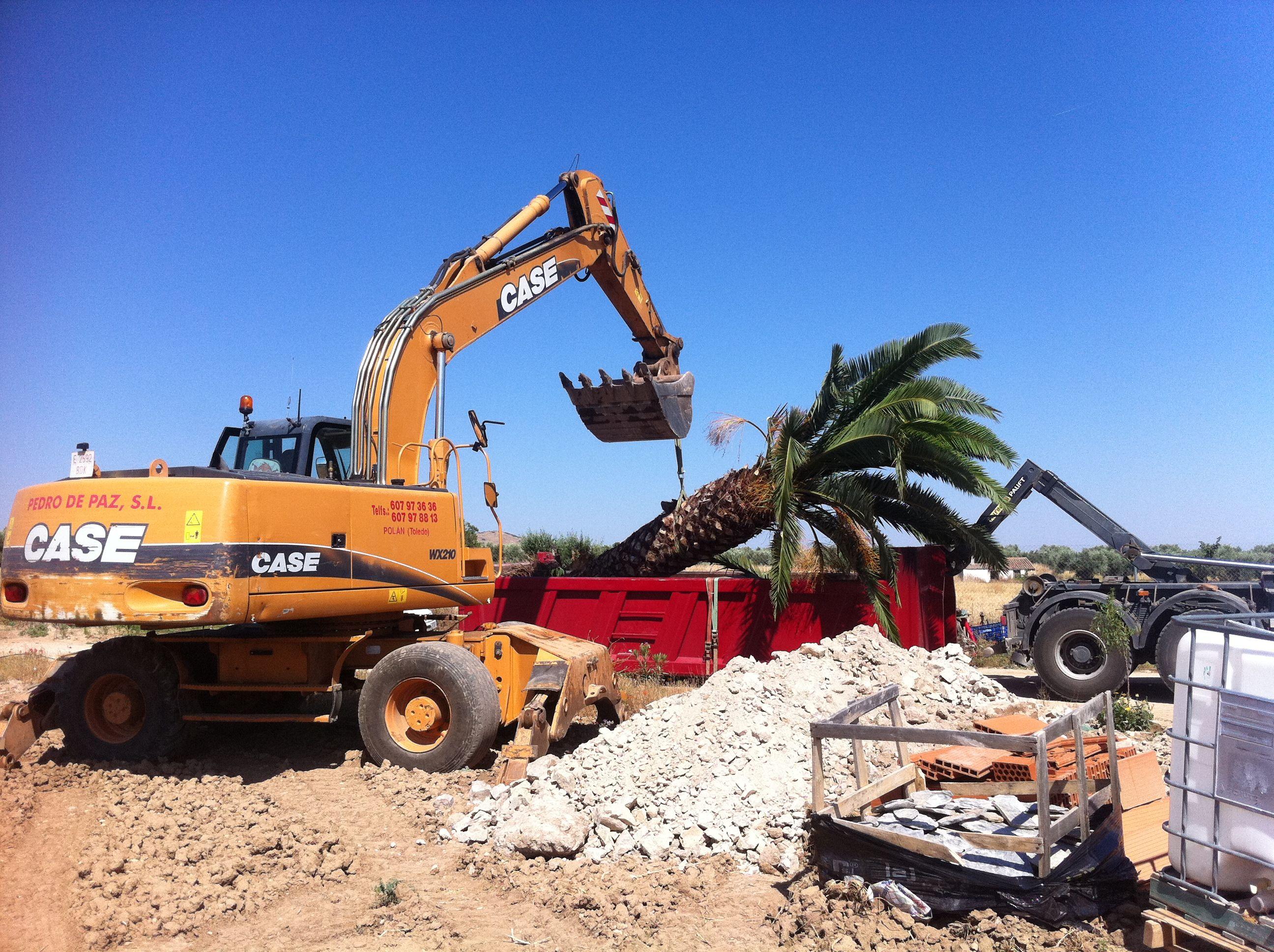 Foto 11 de Excavaciones en Polán | Excavaciones Pedro de Paz