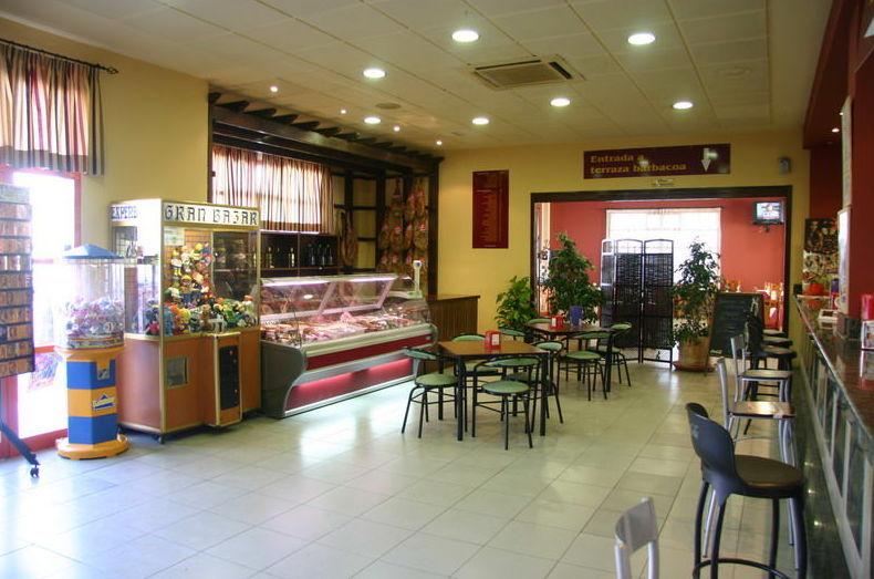 Amplia cafetería en Granada