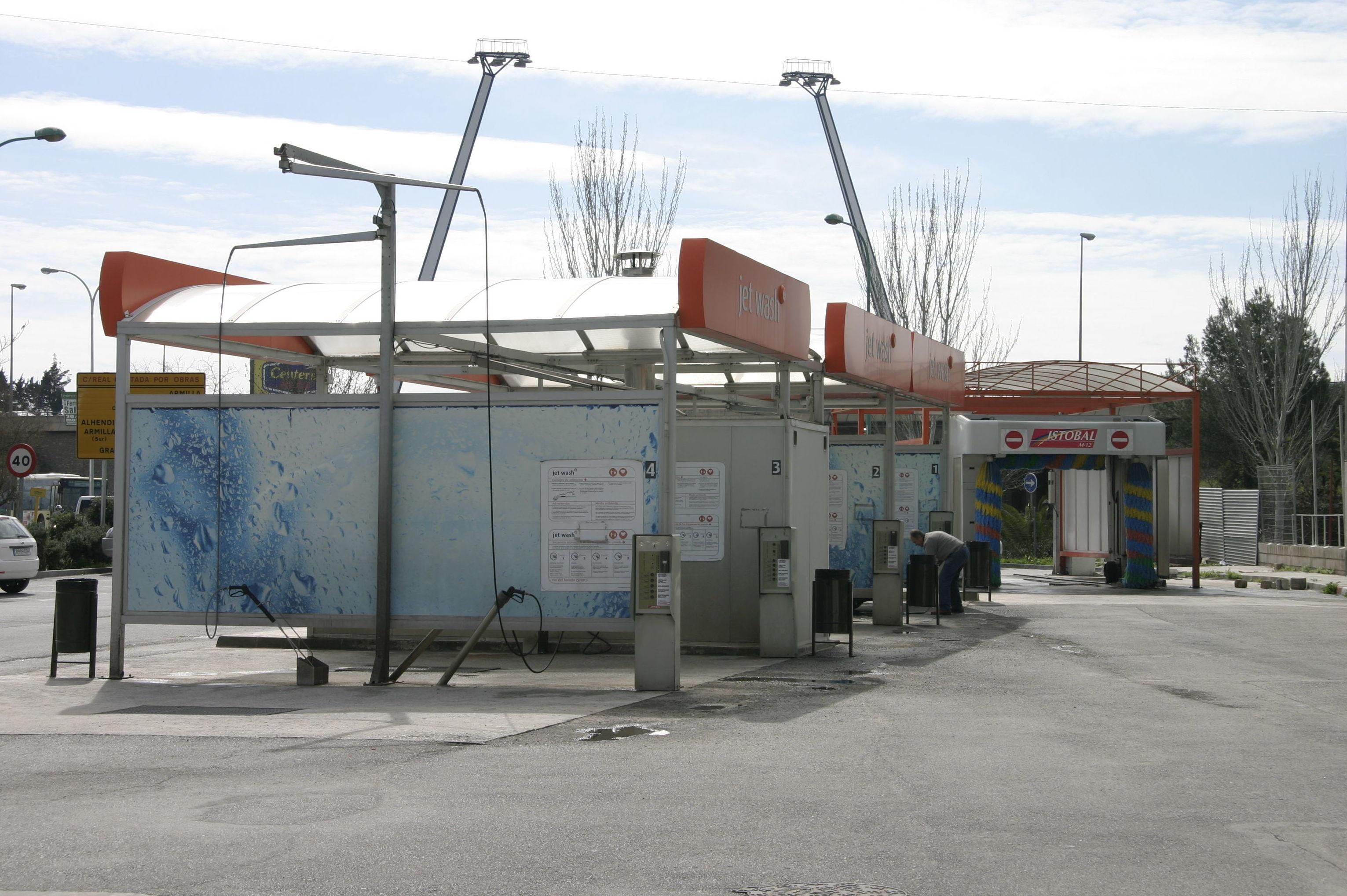 Centro de lavado en Granada