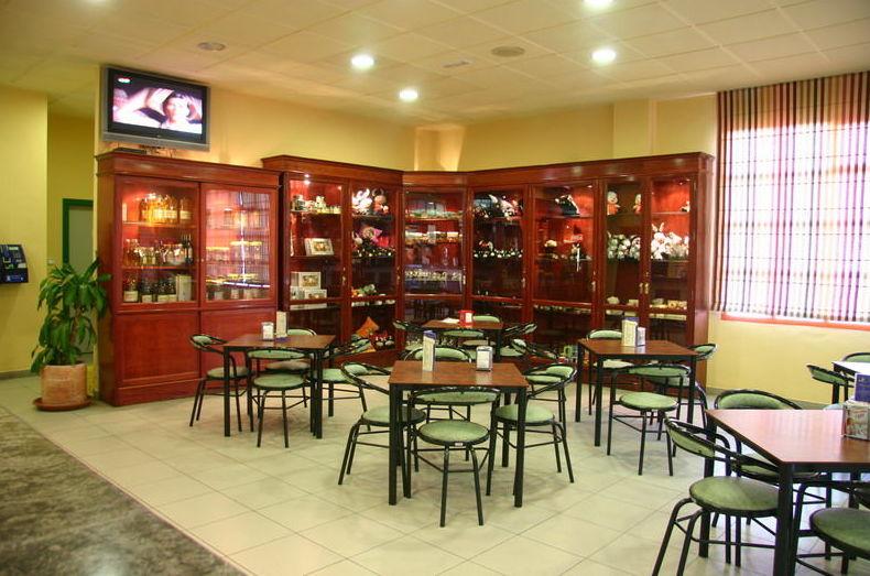 Cafetería en área de servicio en Granada
