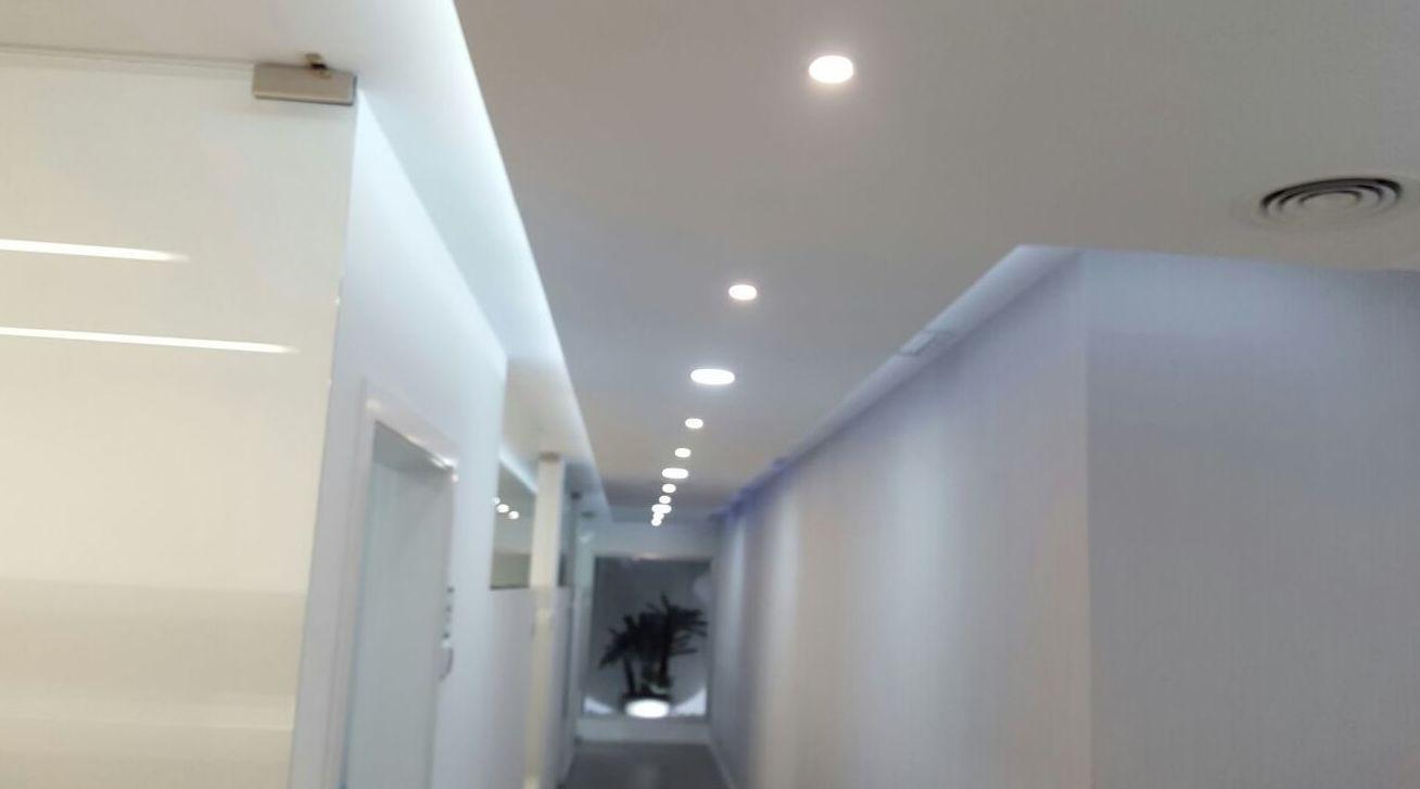 Precio falso techo escayola latest techos modulares - Precio pladur colocado ...