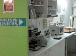 Laboratorio para análisis clínicos
