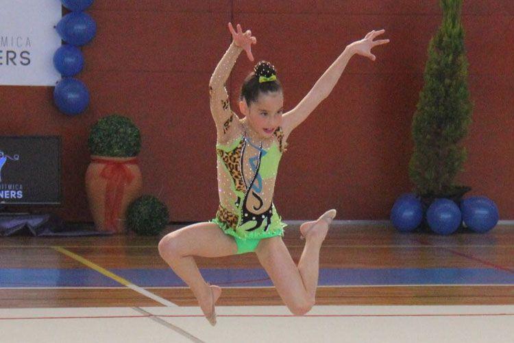 Maillot para competiciones de gimnasia