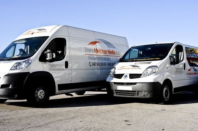 Transmelchor, empresa de transportes en Toledo