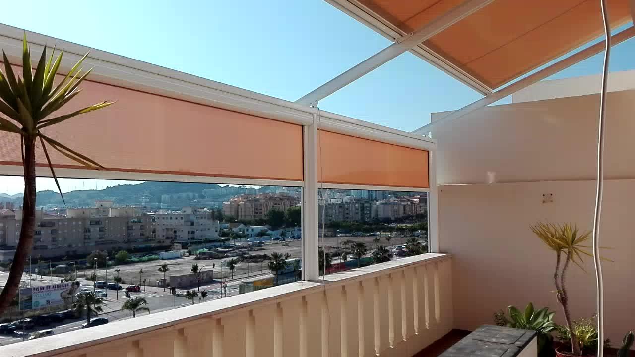 Toldos automaticos precios el toldo teln para balcones o - Precios de toldos para patios ...