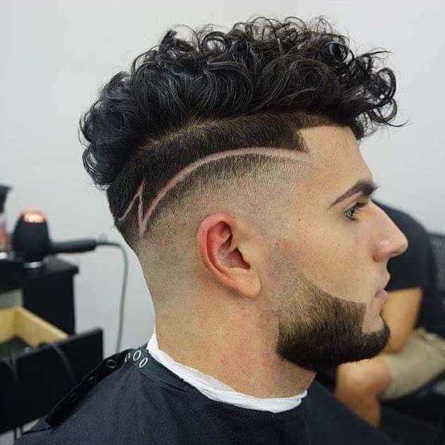 dibujos para el pelo de hombre