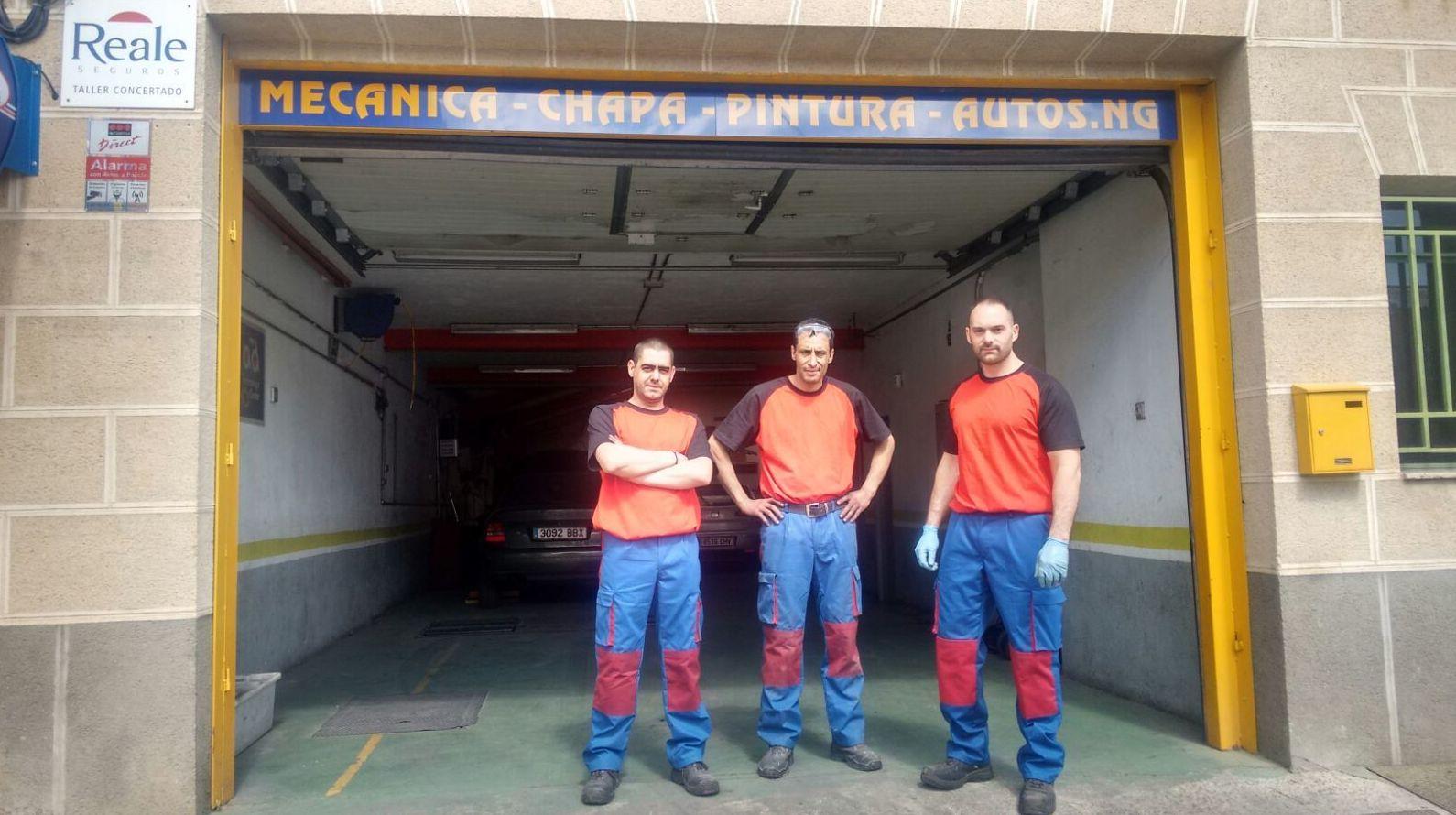 Foto 4 de Taller de automóviles en Segovia   Talleres Autos NG