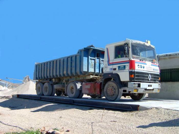 Báscula de camiones