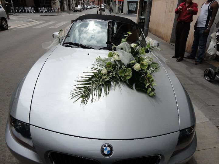 decoracin carro de novios