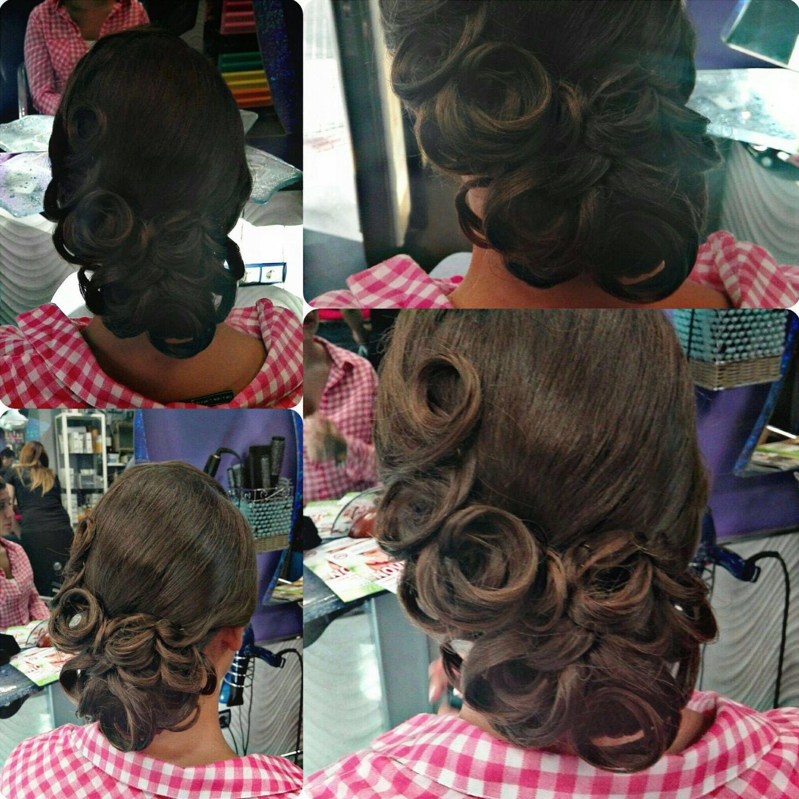 Peinados para bodas y eventos