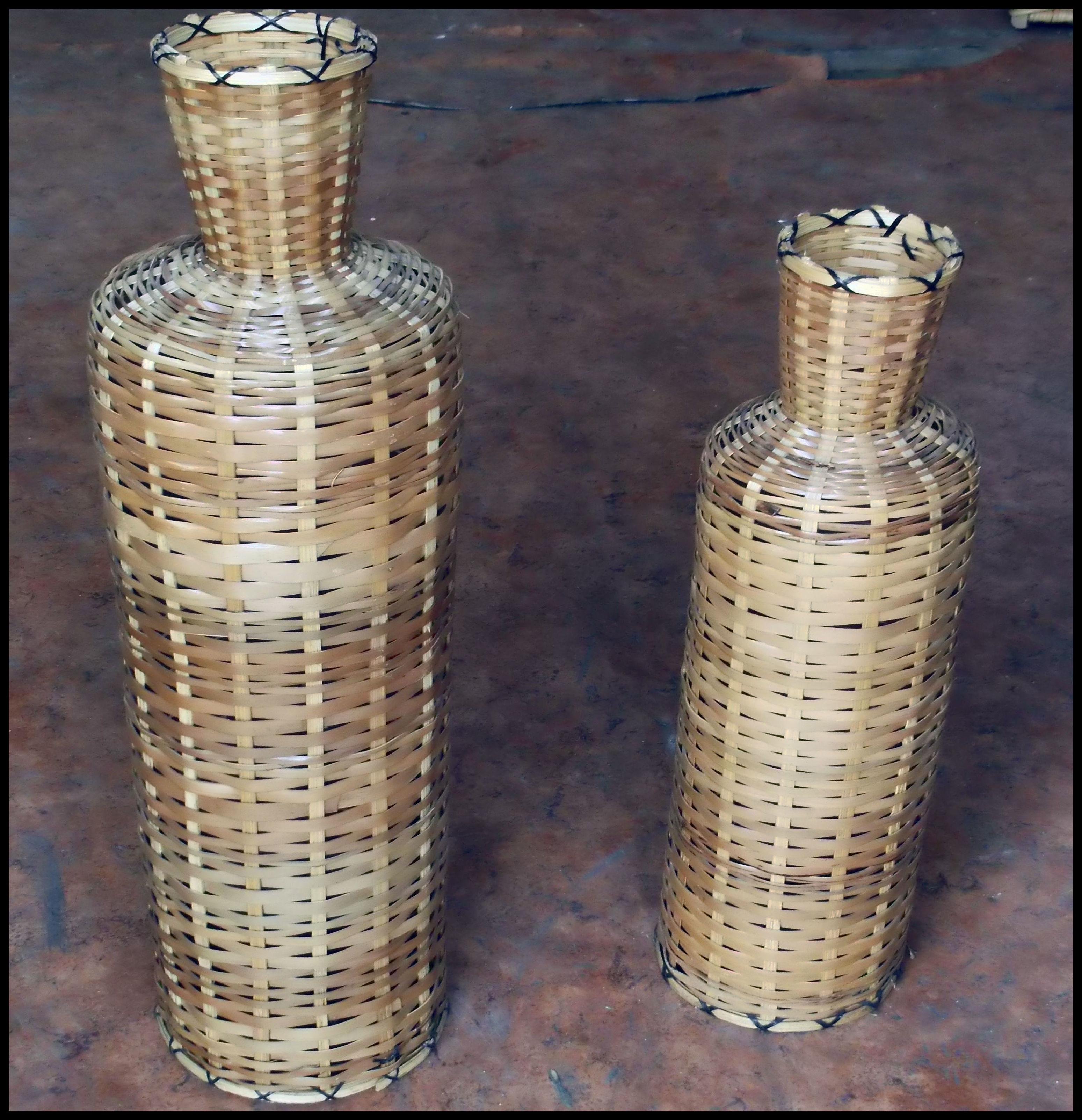 jarrones decorativos de mimbre catlogo de de blas