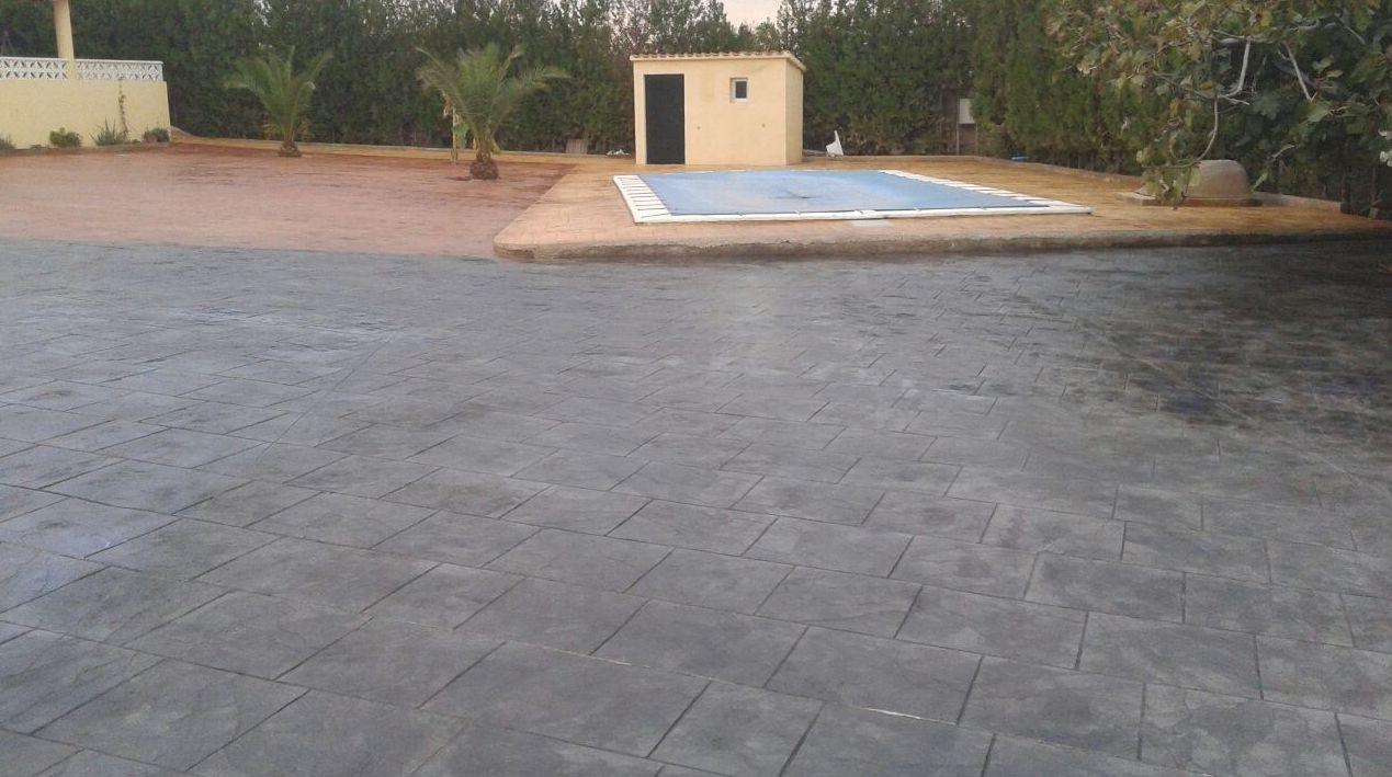 Pavimento impreso cat logo pavimentos impresos de - Precio hormigon impreso valencia ...