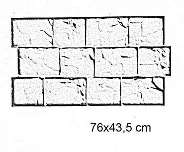 Moldes adoquines cat logo pavimentos impresos de for Moldes para adoquines