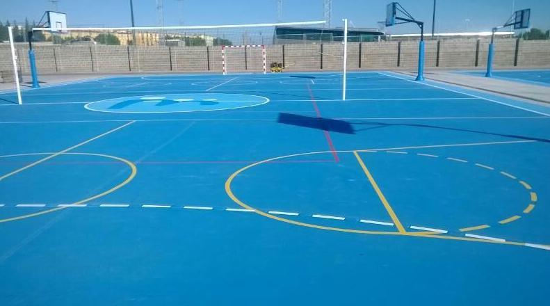 Novedad pintura para pistas deportivas en valencia y alicante - Pintura para pistas deportivas ...