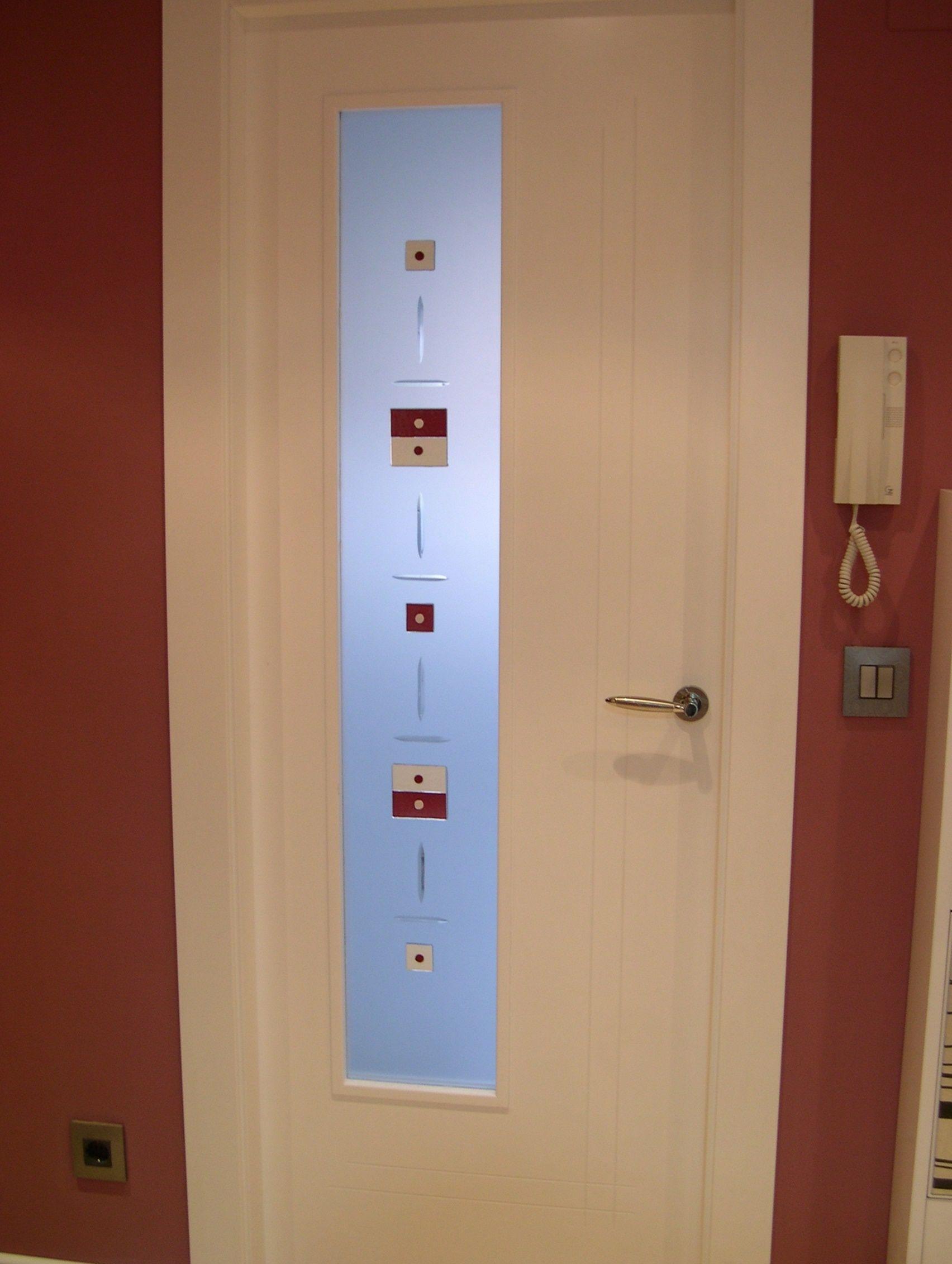 Mod c 2 con vidrio cat logo de puertas y armarios videco for Puertas y armarios