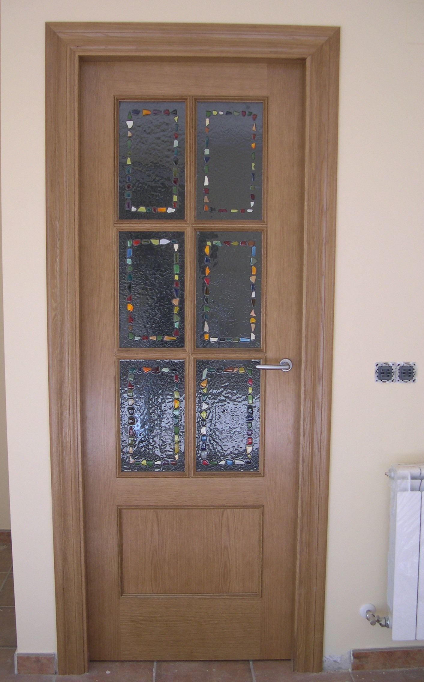 Vidrio fusing cat logo de puertas y armarios videco - Puertas interior asturias ...