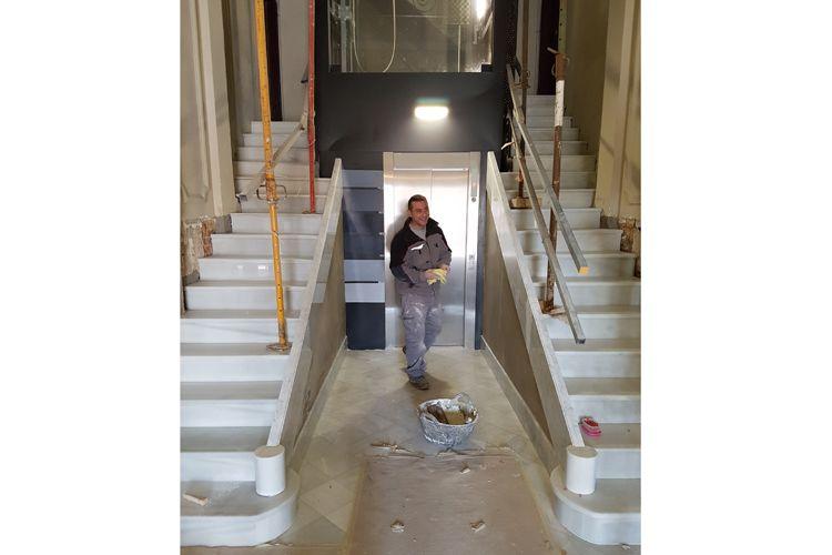 Mármoles y granitos para escaleras