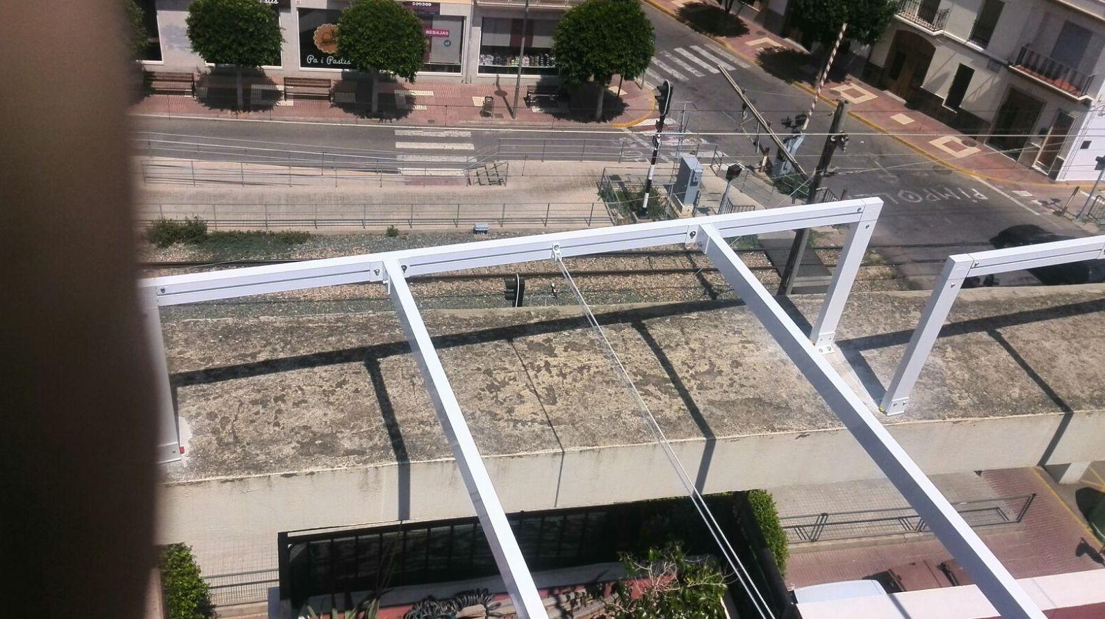 Instalación de pérgolas en Valencia