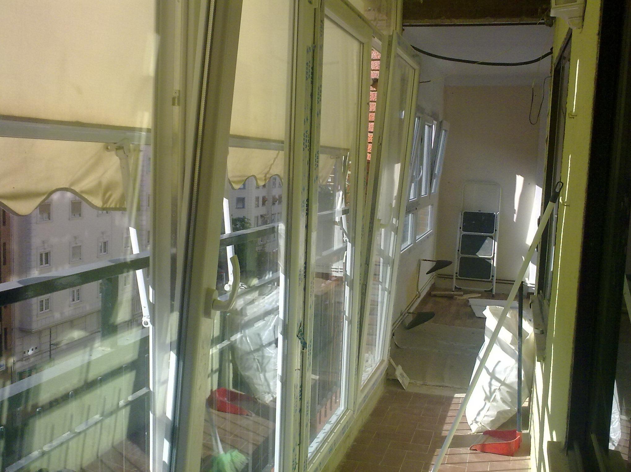 Mirador PVC blanco