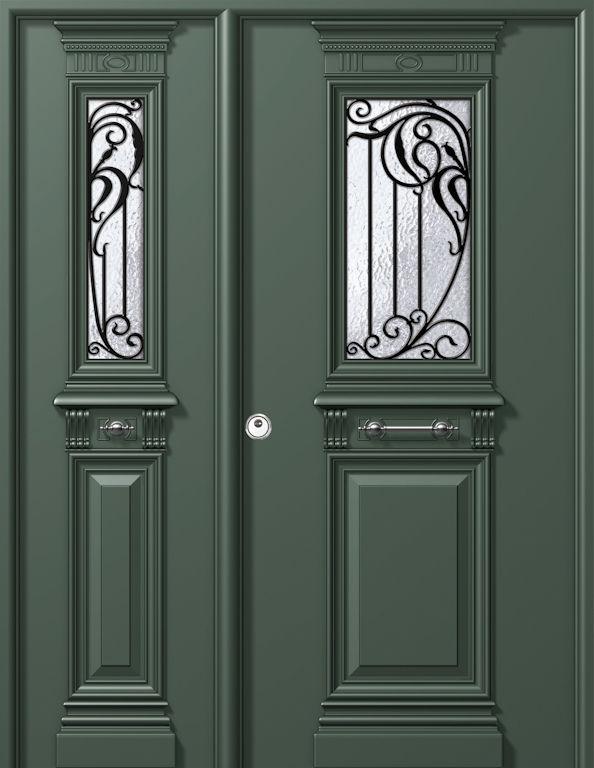 Puertas blindadas productos y servicios de aluminco for Puertas imitacion madera exterior