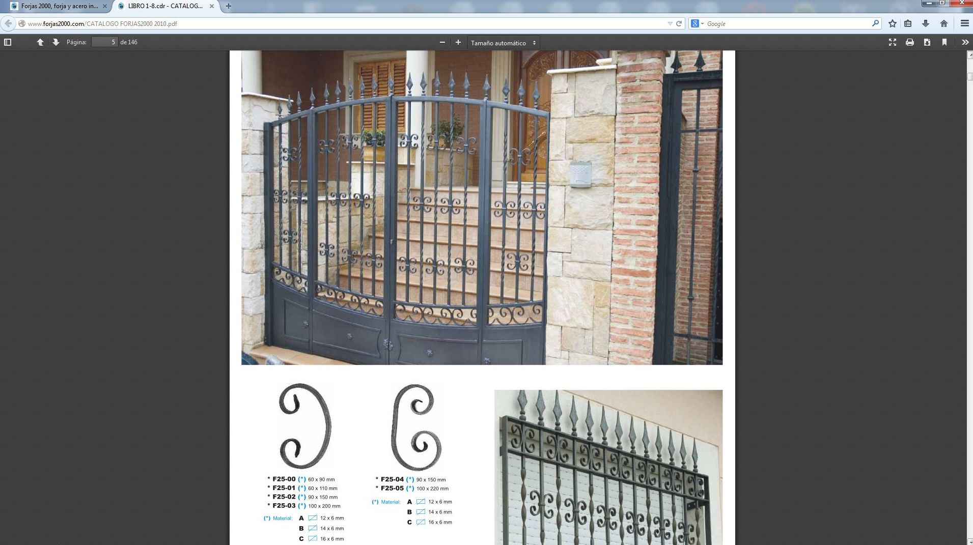 Reja De Seguridad. Cheap Puertas Mosquiteras Y Corredizas U Herreria ...