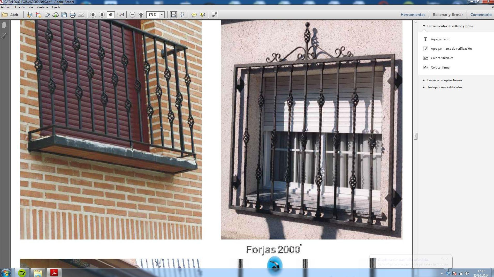 Rejas correderas para ventanas rejas ideales para la for Puertas balcon usadas