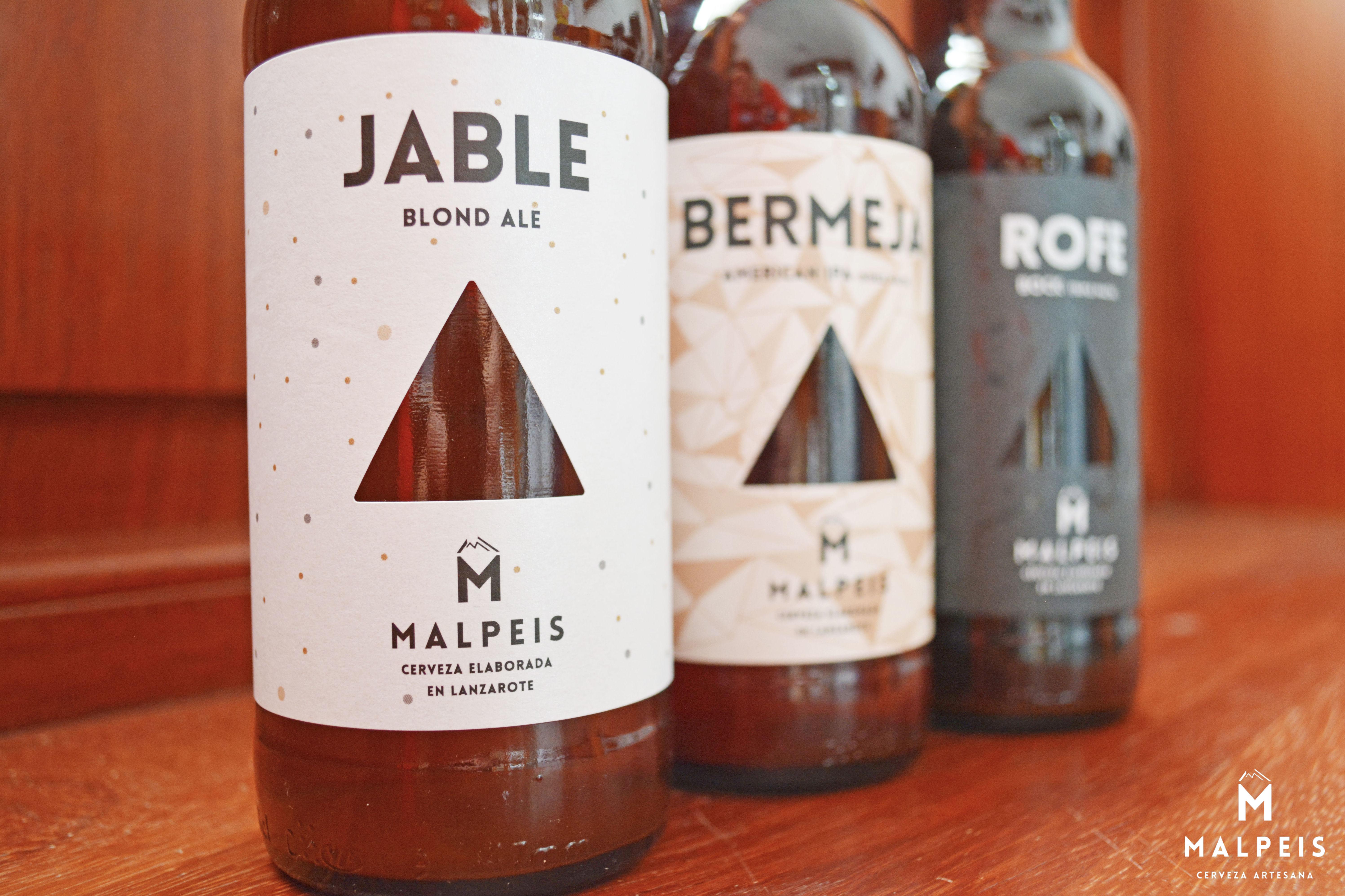 Cervezas artesanas elaboradas en Lanzarote