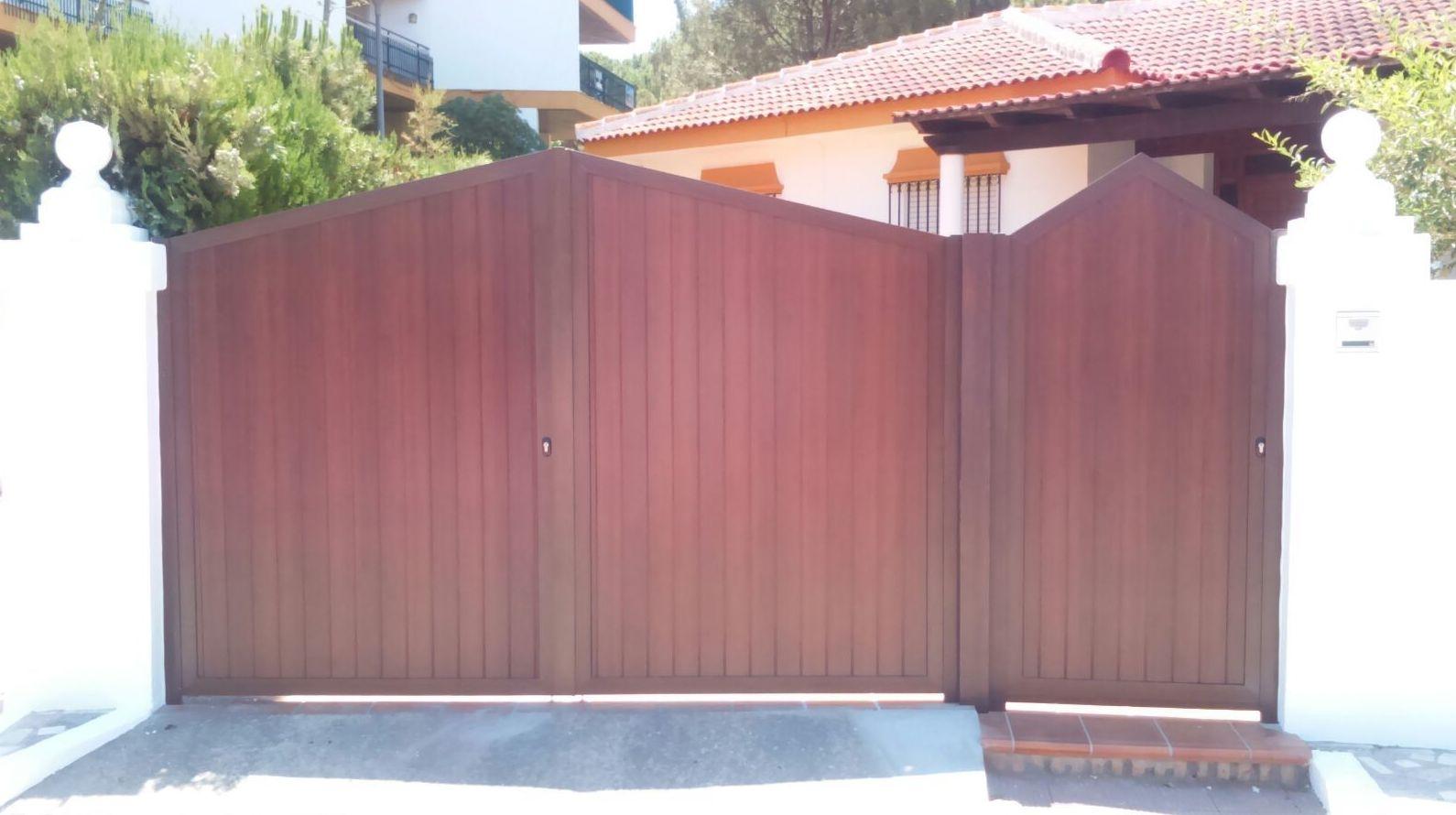 Puertas de jardin de aluminio loading zoom with puertas - Puertas de jardin de aluminio ...