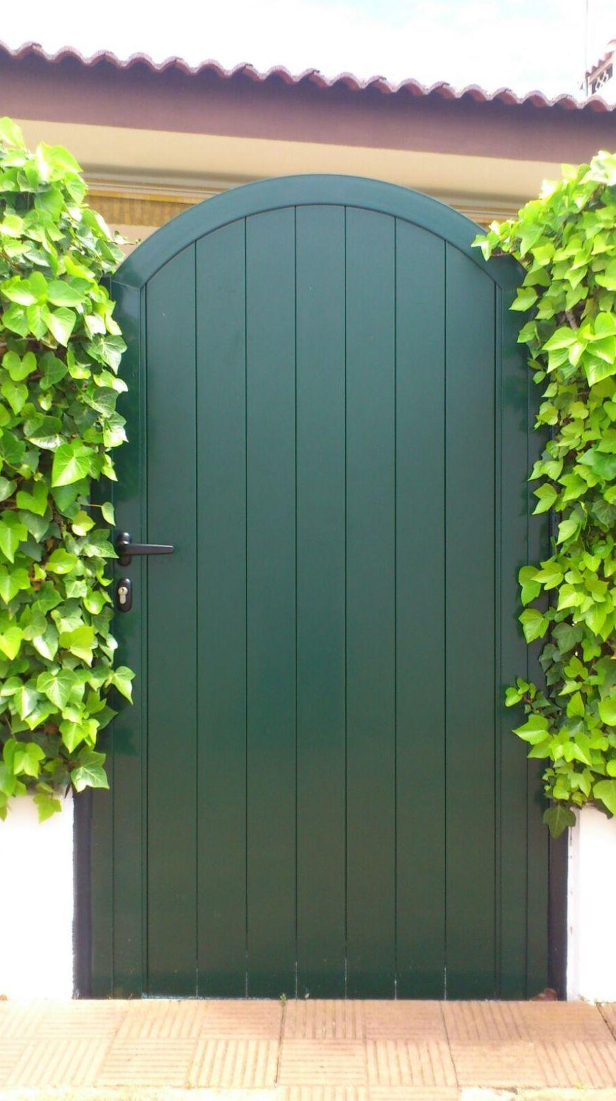 Arcos de madera para puertas opciones mltiples para dar for Puertas para jardin