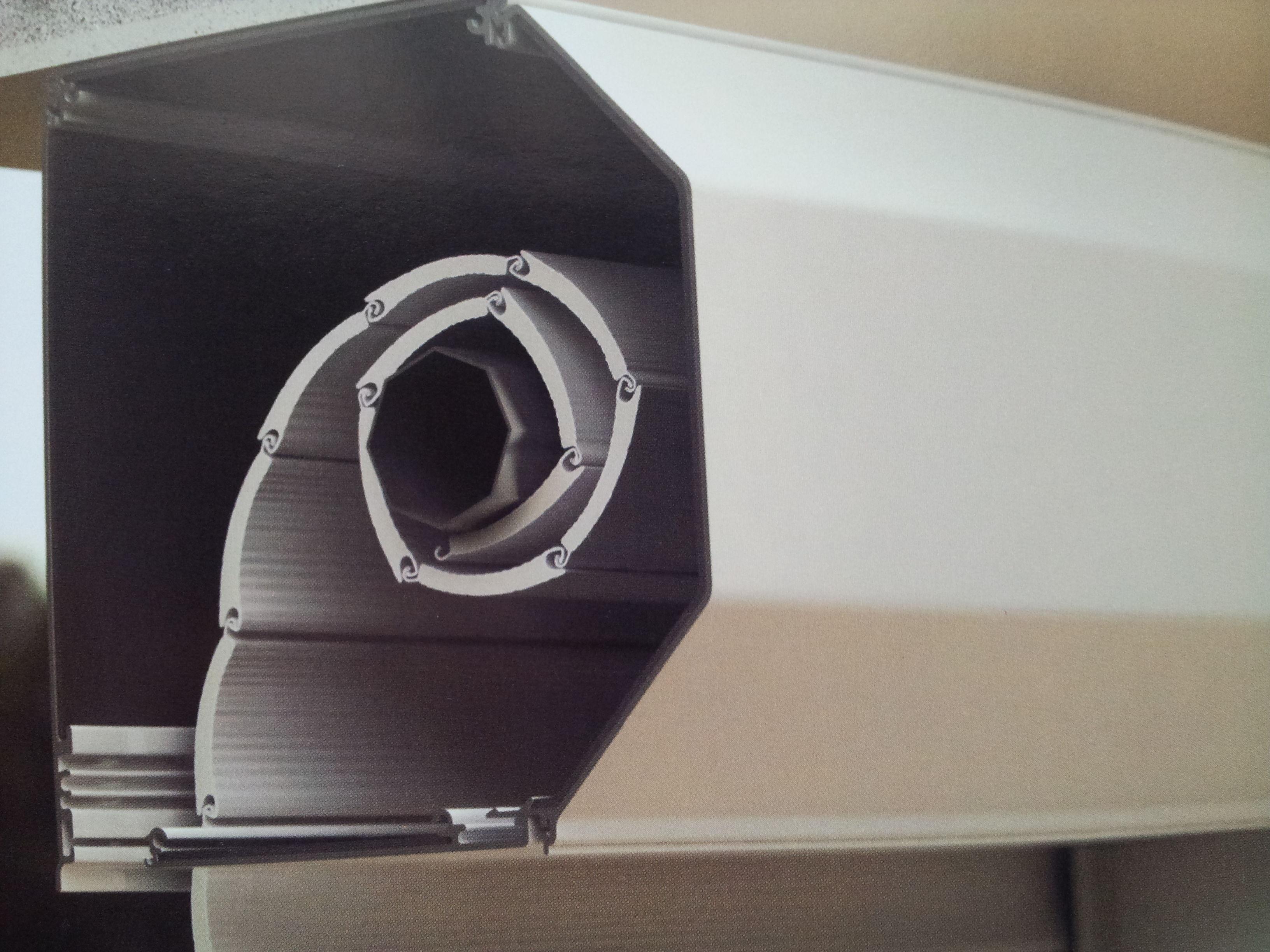 cajon 4 partes de aluminio estrusionado y forrado