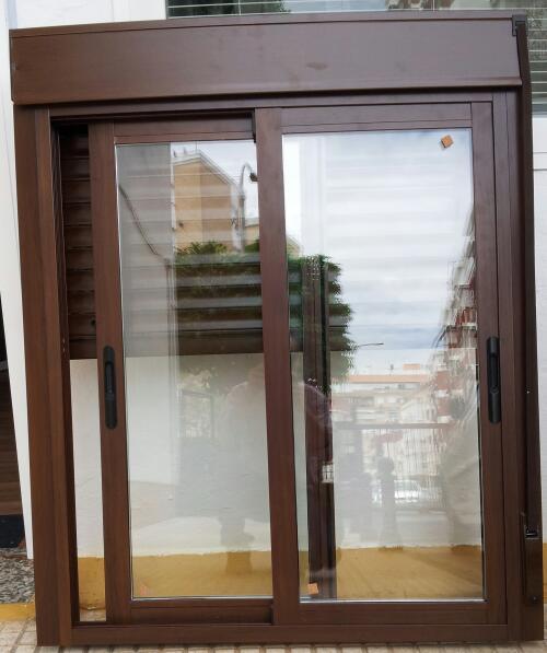 ventana compato de aluminio serie triana