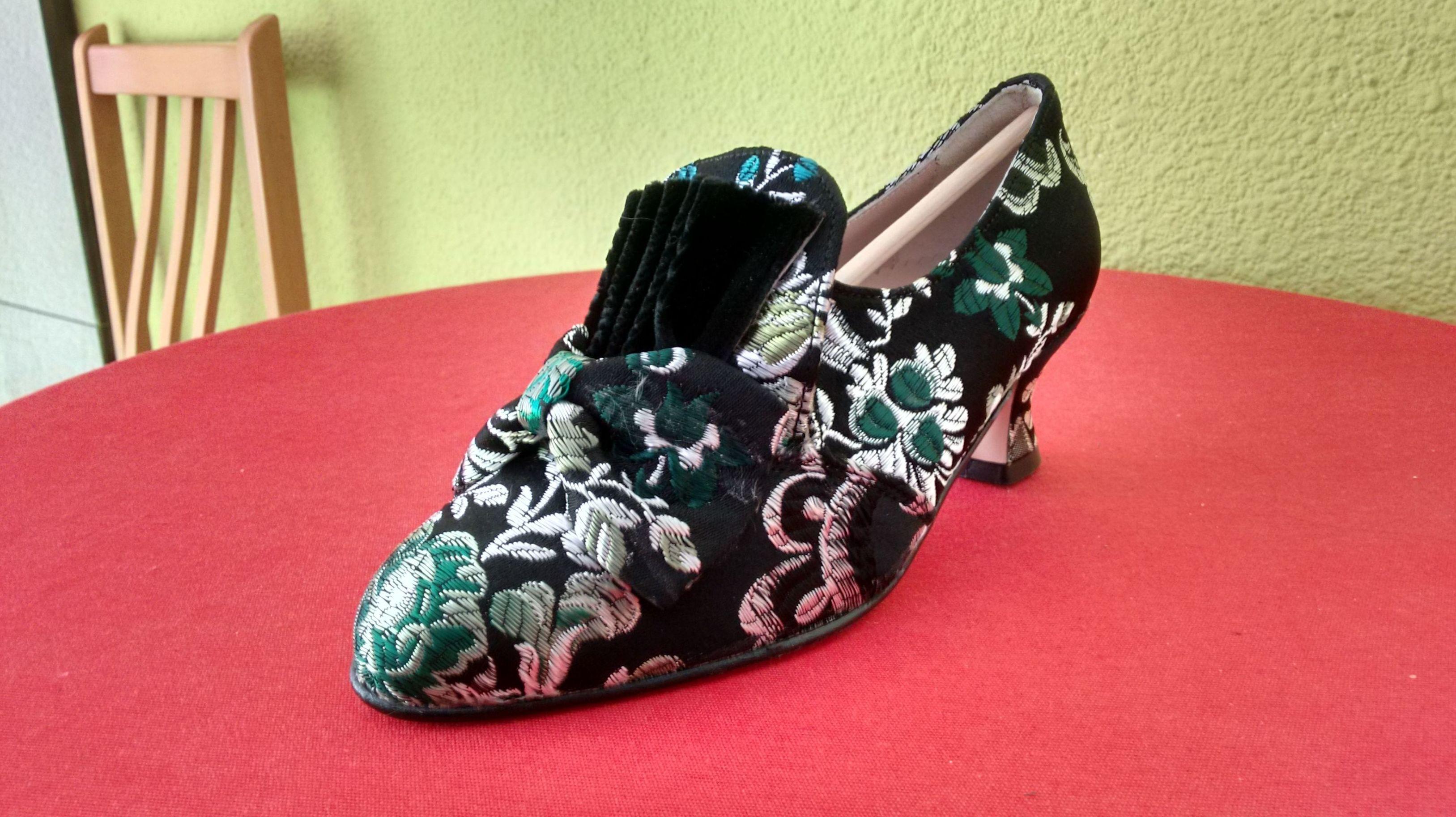 Zapatos forrados