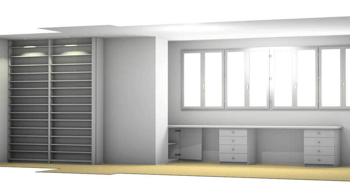 Dise o de cocina armarios etc en 3d carpinconesa for Diseno armarios 3d