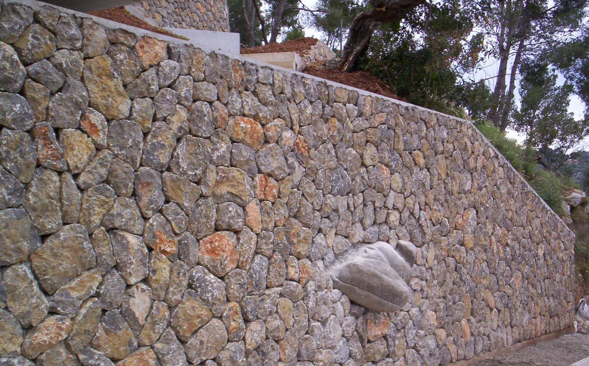 Piedra natural en mallorca tot pedra - Piedra natural pared ...